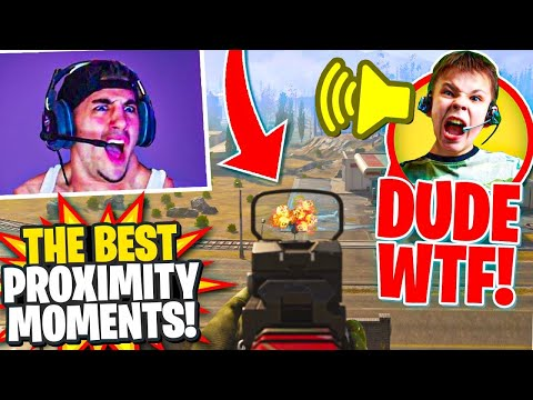 The Best Proximity Chat Moments! (Call Of Duty Warzone Highlights)