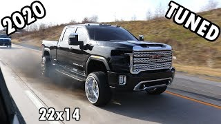 The First TUNED 2020 Duramax L5P on 24x14s