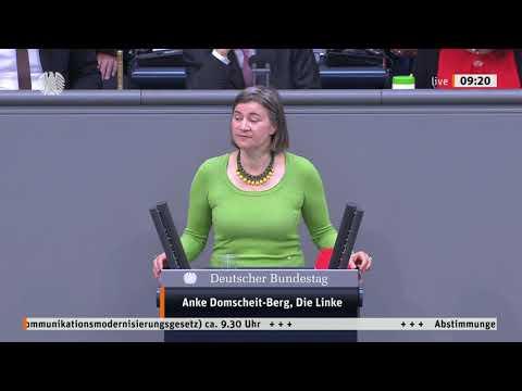 Anke Domscheit-Berg, DIE LINKE: Recht auf schnelles Internet für alle!