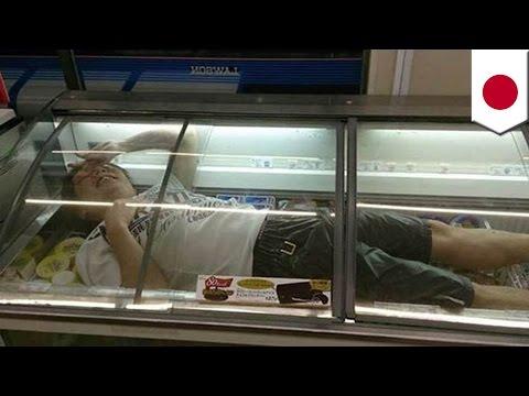 ネット騒然!大炎上15連発 アイス冷凍庫侵入に「逃走中」自首、バカッターにJK乳牛!?- ニュースまとめ