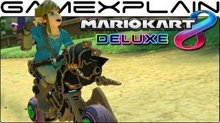 Mario Kart 8 Deluxe - BotW Link & Master Cycle Zero Game & Watch (Nintendo Switch)