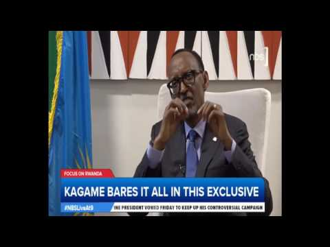 Kagame Bares it All in Exclusive Interview