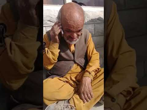 Bichil Khan from Hunza valley talking to his friend
