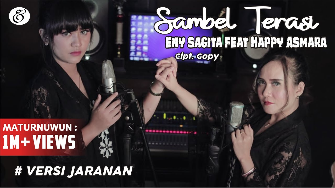 Eny Sagita feat Happy Asmara - Sambel Terasi (VERSI JARANAN) (Official Music Video)
