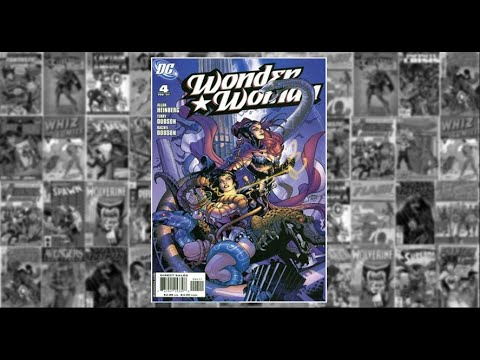 """Wonder Woman: v3 # 4, """"Who is Wonder Woman? (Part 4 of 5)"""""""