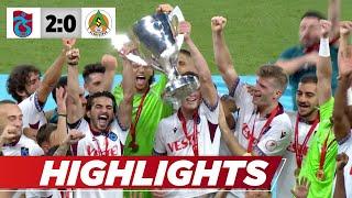 Sörloth macht den Deckel drauf! Trabzon ist Pokalsieger | Highlights | Trabzonspor - Alanyaspor