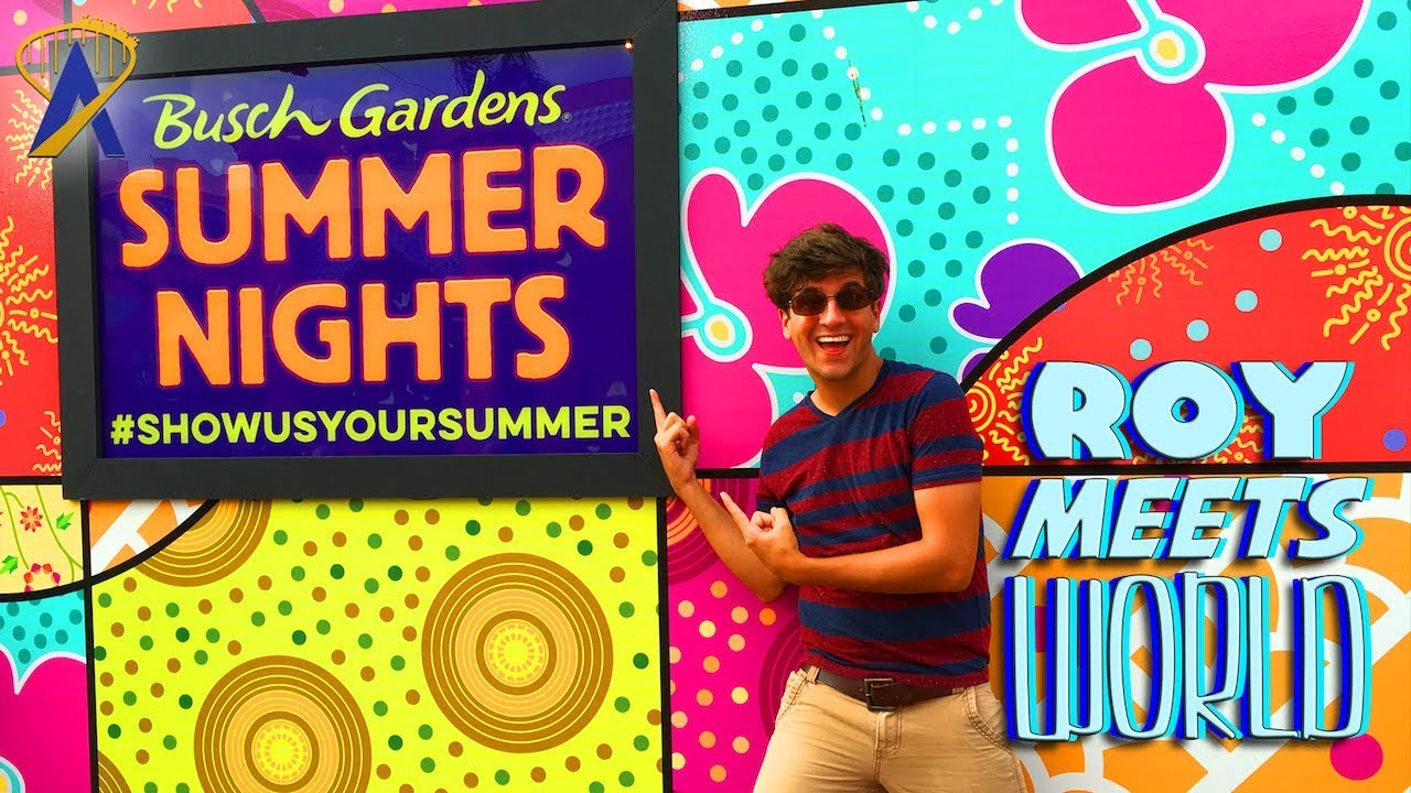Roy Meets World 39 Summer Nights At Busch Gardens Tampa 39 Aug 8 2017 Youtube