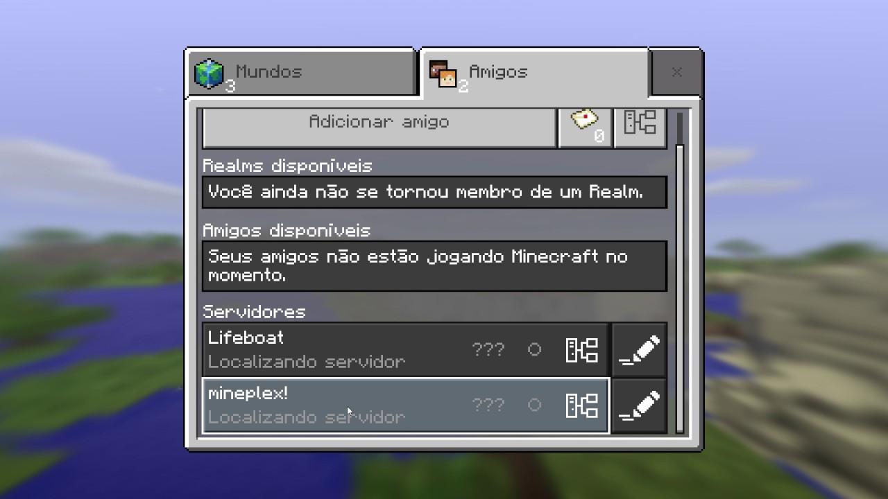 minecraft server windows 10 edition