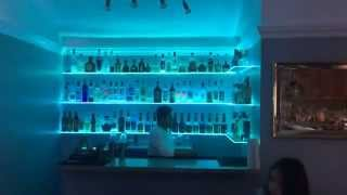 Led Bar Shelf Fully Stocked