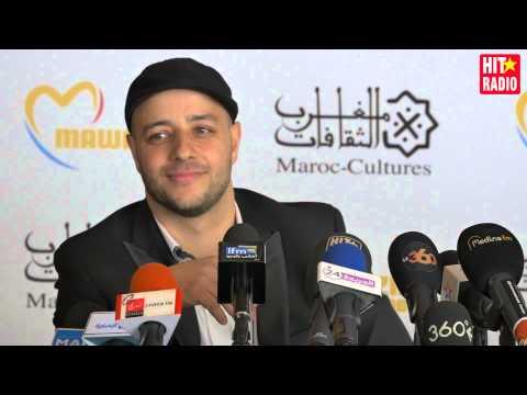 Conférence de presse avec Maher Zain à Mawazine 2015 sur HIT RADIO
