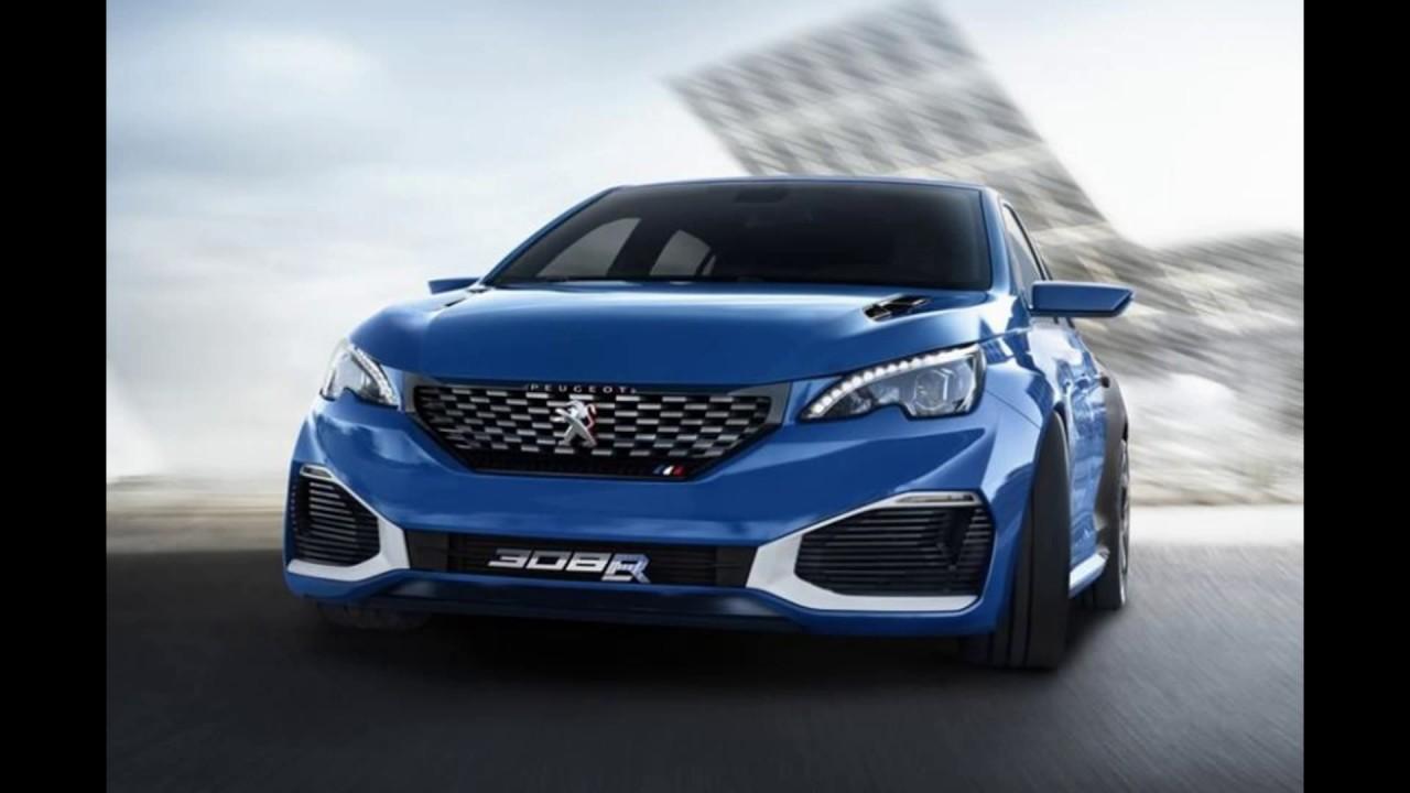 Peugeot L R HYbrid concept YouTube