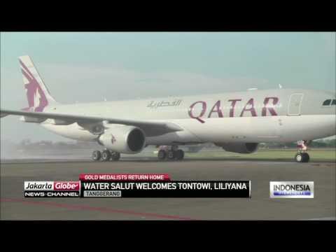 Tontowi Ahmad, Liliyana Natsir Safely Landed In Indonesia