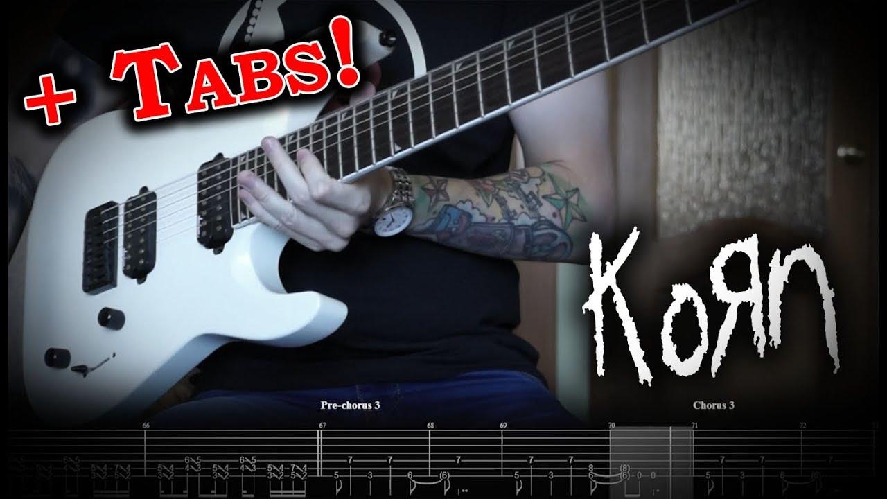 korn you 39 ll never find me guitar cover w tabs youtube. Black Bedroom Furniture Sets. Home Design Ideas