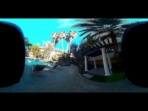 360 Video of the The plaza Sherman oaks California