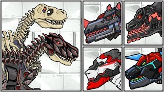 T-Rex Fossils | Dino Robot Corps | Full Game Play - 1080 HD