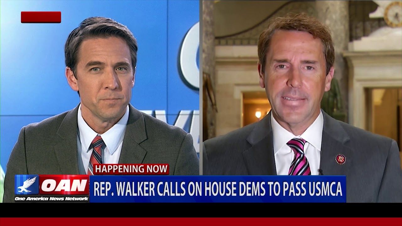 OAN Exclusive: Rep. Mark Walker calls on House Democrats to pass USMCA trade deal