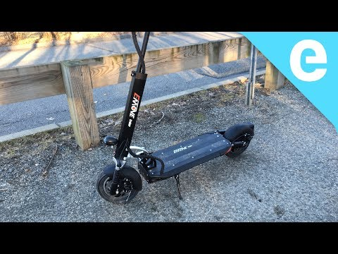EMove electric scooter review - 50 mile range!