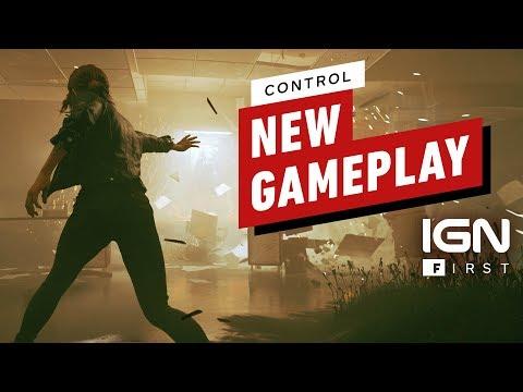 Control - 8 минут геймплея без спойлеров