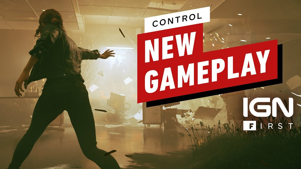 Kontrolle: 8 Minuten neues Story Mission Gameplay (4K) - IGN First + video
