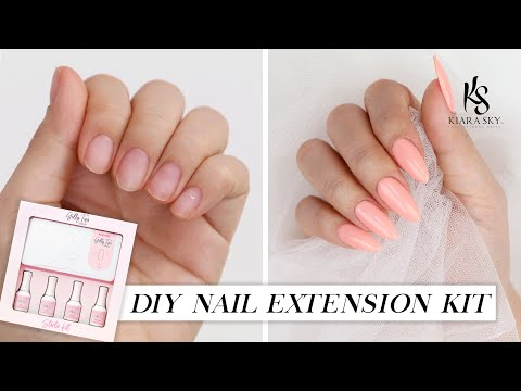 DIY Nail Extension For Beginners (No Acrylic) | TINA TRIES IT - YouTube