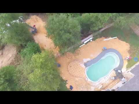 Leisure Pools Houston Install October 2016