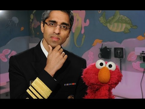 Surgeon General and Elmo team up to talk vaccinations