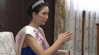 2017ミス・ユニバース・ジャパン愛媛代表に選ばれた福岡佳奈子さんが県...