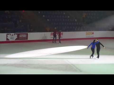 Tessa and Scott CTNSC18 Gala Practice 5