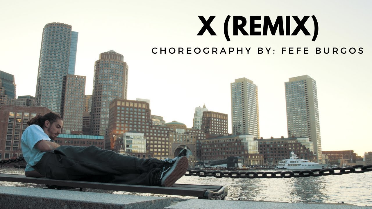 X (Remix) - Nicky Jam Y J. Balvin Feat. Mula & Ozuna | FeFe Burgos Choreography 4K