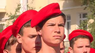 Новобранцы юнармии Уссурийска отрепетировали свой первый парад