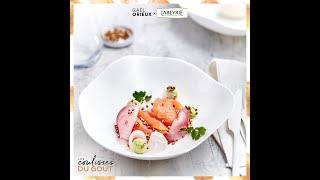 Labeyrie x Gaël Orieux, chef étoilé - Saumon fumé Boisé d'Ecosse, pickles de légumes & avocat