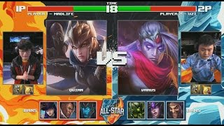 Madlife Quinn vs Uzi Varus (1 VS 1) - 2016 All Star Day 1