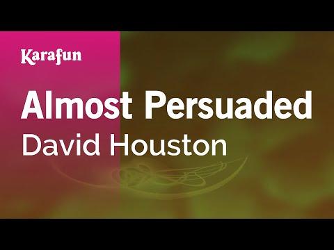 Karaoke Almost Persuaded - David Houston *