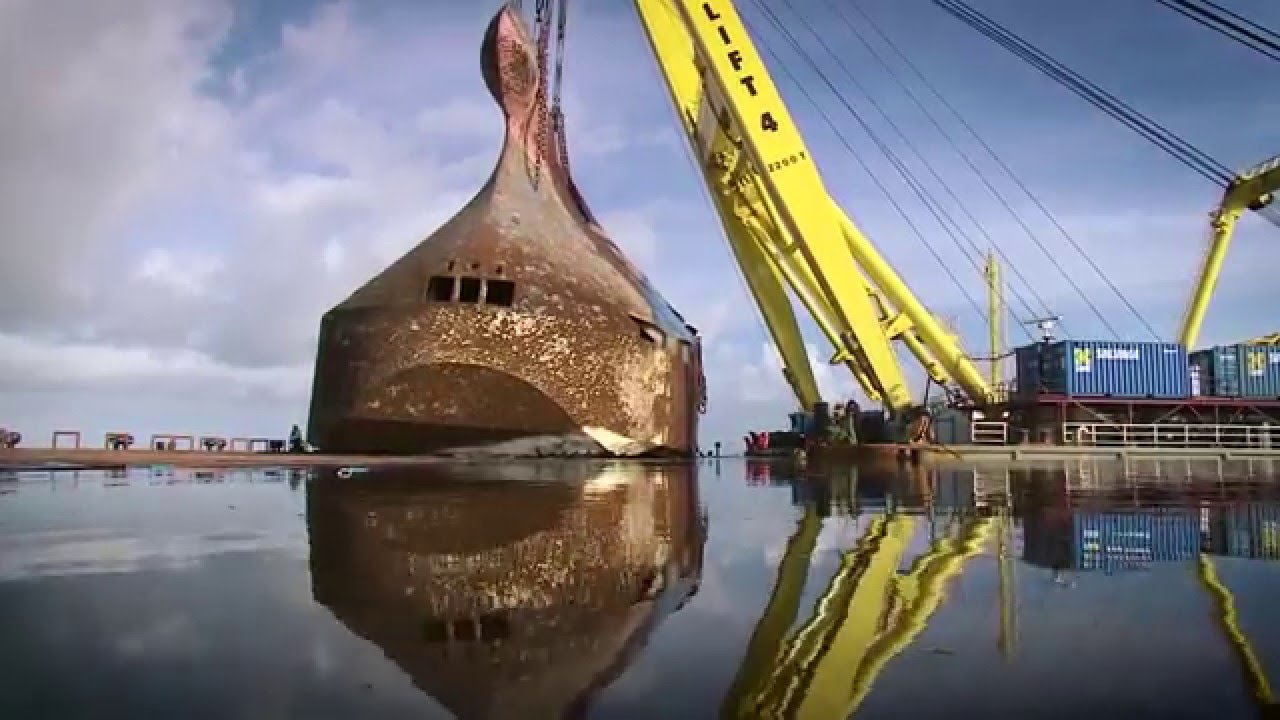 Wreck Removal Baltic Ace Smit Salvage Youtube