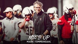 Texas Tech Football: Mic'd Up - Mark Tommerdahl | 2019