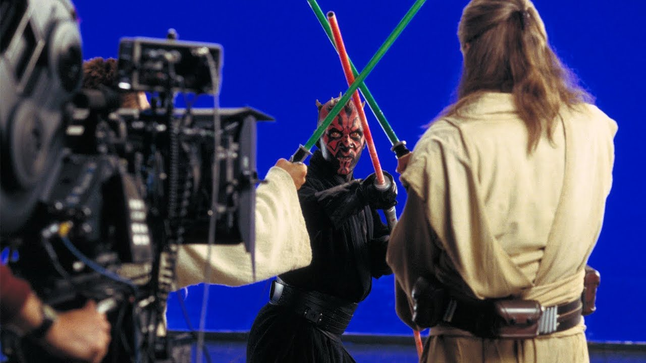 Ray Park Fights Liam Neeson on Set and George Explains the First Sith