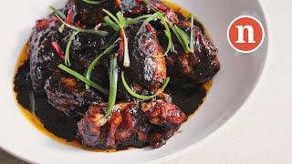 Spiced Chicken in Honey and Dark Soy Sauce   Ayam Masak Kicap Madu [Nyonya Cooking]