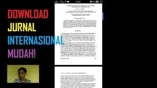 Gambar cover Cara Download Jurnal Internasional Lewat HP Android