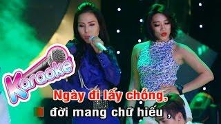 Một Đời Vì Chữ Hiếu Remix - Karaoke Beat Diệp Hoài Ngọc