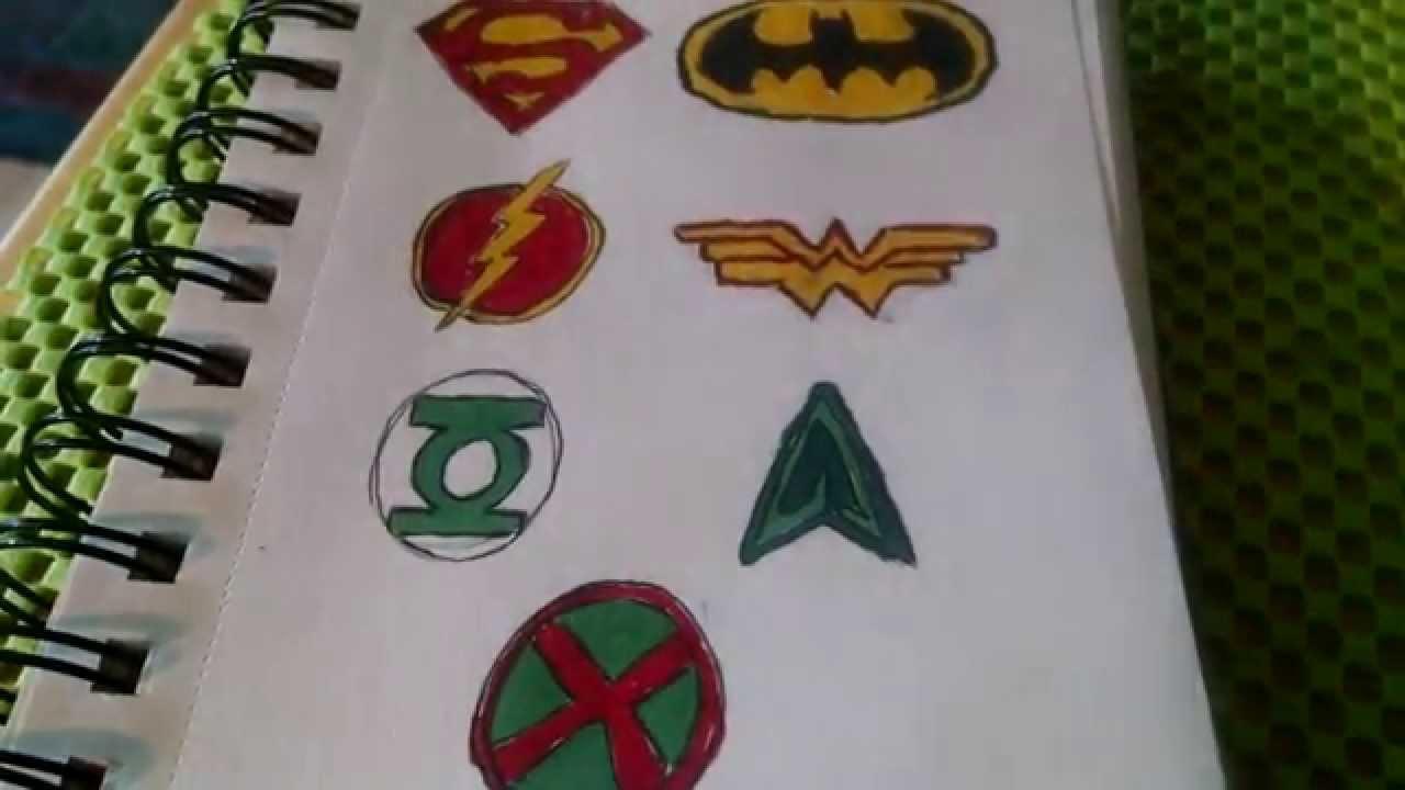 Dc Comics Superhero Symbols Explained Youtube