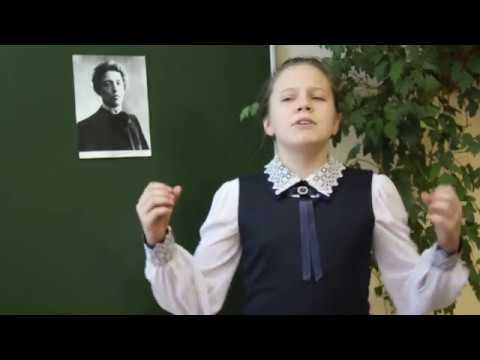 Изображение предпросмотра прочтения – ОльгаКозлова читает произведение «А.А. Блок, О, весна без конца и без краю...» А.А.Блока