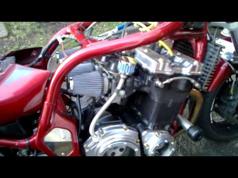 S&B cone filters and crank case breather fitted