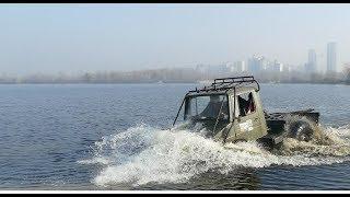 ПЕРВЫЙ брод только для СМЕЛЫХ off road 4x4