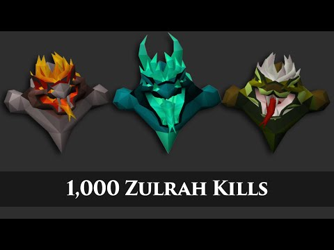 Loot from 1,000 Zulrah Kills