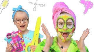 Салон красоты для Саши | Весёлые истории для детей