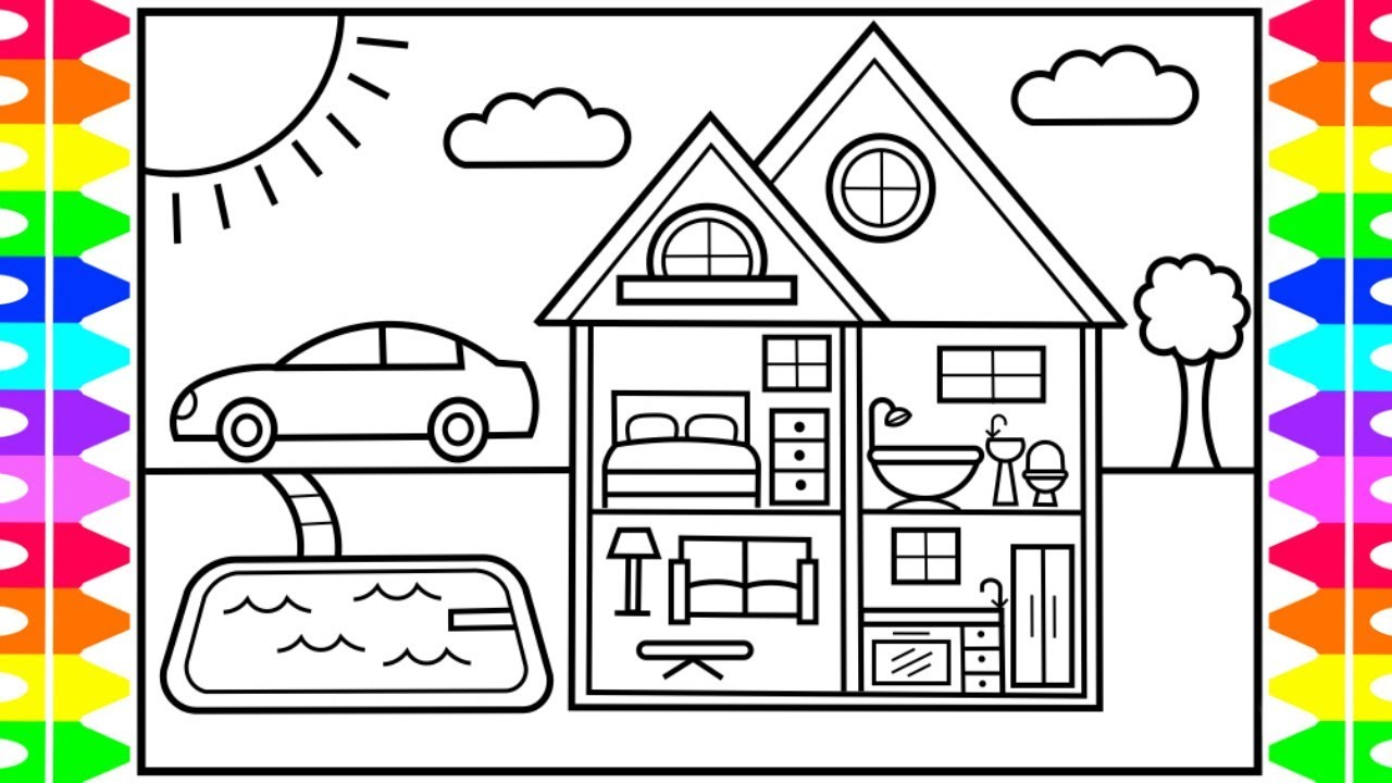 67 Top Coloring Pages Barbie House Images & Pictures In HD