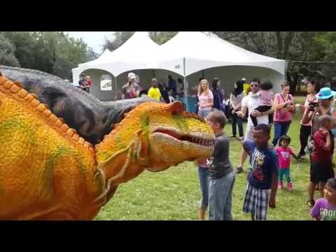 The Dino Expo JHB Botanical Garden