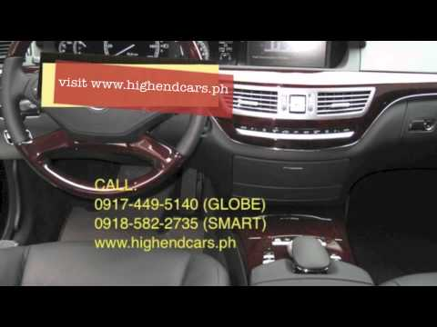 2012 MERCEDES BENZ S550 BULLETPROOF IMPORTED ARMOR PHILIPPINES WWW.HIGHENDCARS.PH