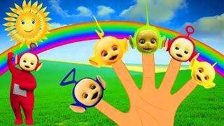 Телепузики Семья пальчиков на русском языке