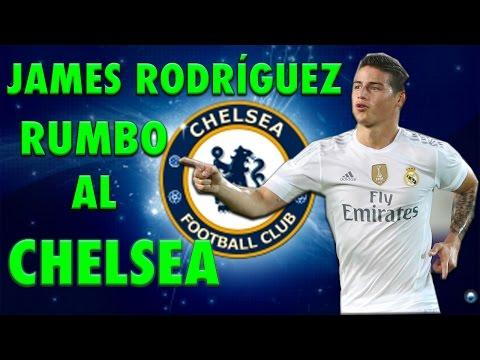 REAL MADRID // NOTICIAS -- JAMES RODRÍGUEZ AL CHELSEA!!!